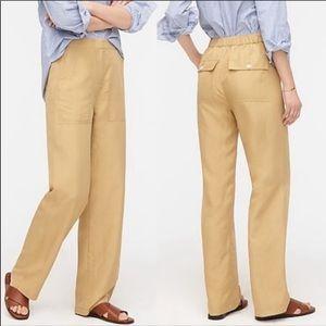 nwt J CREW khaki straight leg pants